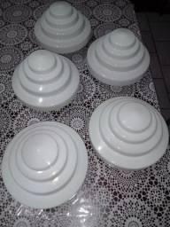 Cúpulas para luminárias