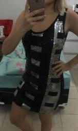 Vestido de paetês