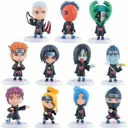 Mini Action Figures Akatsuki Anime Naruto