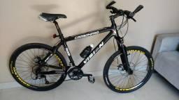 Bicicleta Vision Mountain Bike Carbono Aro 26