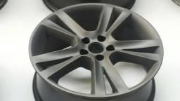 Roda aro 17 VW Golf Europeu Esportiva Grafite fosca 5X100