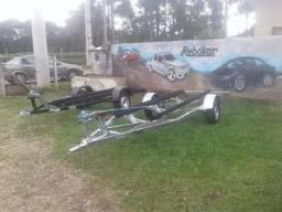 Carreta para Barco 6m direto da fábrica