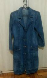 Casaco Sobretudo jeans M