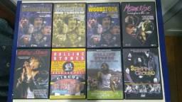 34 DVDs de Rock - Hendrix - Cure - Ramones - Sabbath - Stones