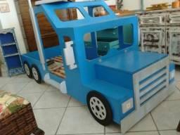 Cama infantil de caminhão