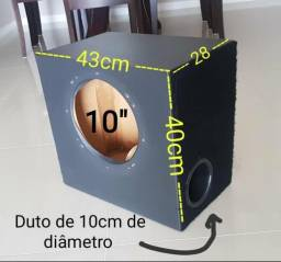 """CAIXA DUTADA 48 litros para SUB de 10"""""""