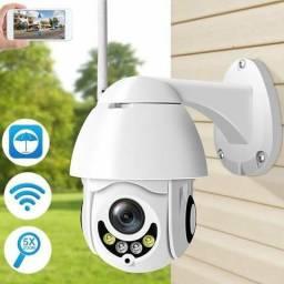 Câmera Ip Prova D'água Externa Wi-fi HD Zoom