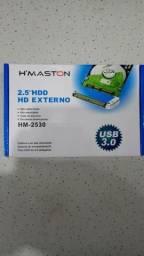 Case Gaveta HD Externo 2.5 USB 3.0 Notebook com chave e parafuso de montagem
