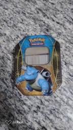 Cartinhas Pokémon com Latinha do Blastoise