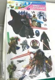 Adesivo 5d Starwars ( guerra nas estrelas)