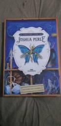 """Livro """"O fabuloso livro de Joshua Perle""""."""