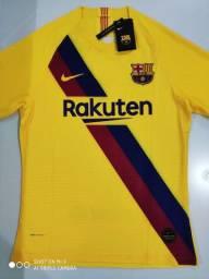 Camisa Barcelona Away Player Nike 19/20 - Tamanho: G