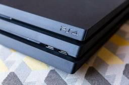 Playstation 4 Pro com Mais De 10 Jogos