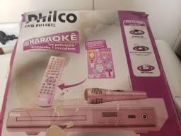 Karaoke para menina cor de rosa