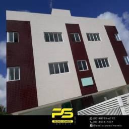 Apartamento com 2 dormitórios à venda, 62 m² por R$ 167.000 - Ernesto Geisel - João Pessoa
