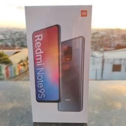 Revolucionário! Redmi Note 9s da Xiaomi. Novo Lacradão com garantia e entrega!