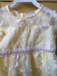 Promoção de um vestido de criança