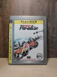 Burnout Paradiseplatinumps3 Impecável Funciona Perfeitamente