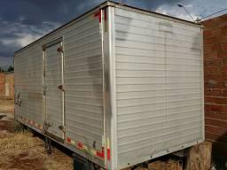 Baú para caminhões 3/4 2 e 2.20 de largura, 5.50de comprimento por 2.30 de altura