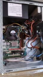 Computador Processador Q9300 Memória de 4GB HD de 240GB ssd Placa de Vídeo de 1GB
