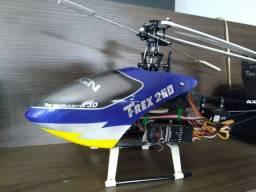 Helimodelo, helicóptero Trex 250