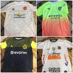 Camisas de time diversos times europeus e Brasileiros ! entregamos !