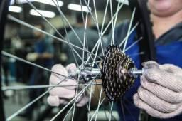 Faço revisões e consertos de bikes