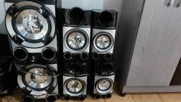 CAIXA DE SOM : LG BOOMBOX METAL