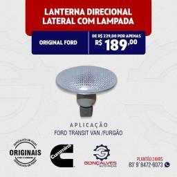 LANTERNA DIRECIONAL LATERAL COM LÂMPADA ORIGINAL FORD