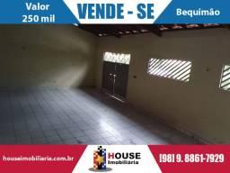 Venda de casa no Bequimão, com 106m2 , com suíte, valor 250 mil, Negociável