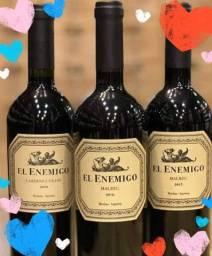 Vinho Argentino El Enemigo 108 reais