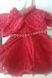 Vestido de festa de bebê menina por 40 reais