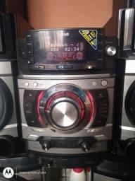 Mini system lg metal bass
