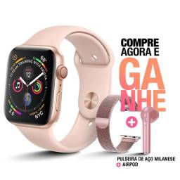 Relógio Inteligente Smartwatch IWO 8 Novo Lacrado + Pulseira + Fone de Brinde