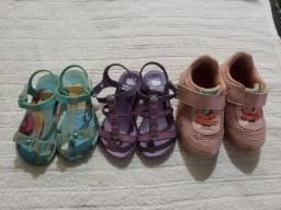Lote menina calçado