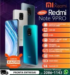Celulares Xiaomi - Série Mi, Redmi Note 7, 8, 9 e 10 - Entrega Grátis!