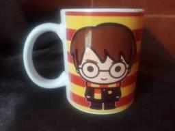 Caneca porcelana Harry Potter pronta entrega