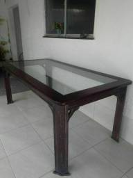 Mesa de madeira grande