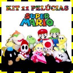11 Bonecos De Pelúcia Super Mario Bros Bowser Alta Qualidade