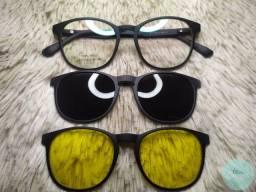 PROMOÇÃO! Óculos + Lentes com anti Reflexo Visão Simples