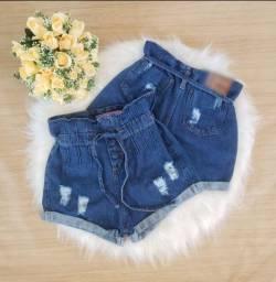 Shorts jeans de alta qualidade