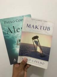 Livro Maktub e Aleph (informações na descrição)