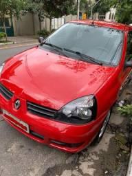 Renault Clio Campus 1.0 16V 4 portas (AC/DH/VE) - Baixa KM oportunidade, quem ver leva!!!