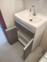 Gabinete de banheiro armário espelho MDF 100%