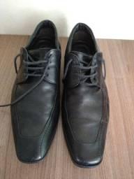 Sapato Masculino Social Couro Legítimo Democrata Perfeito