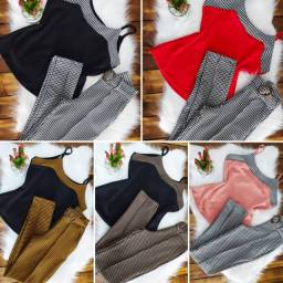 Conjunto calça roupa feminina