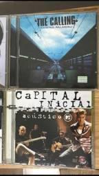 CD The Calling / CD Capital Inicial (Acústico MTV)