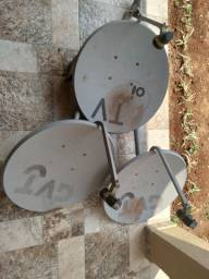 Cabo coaxial + Antenas