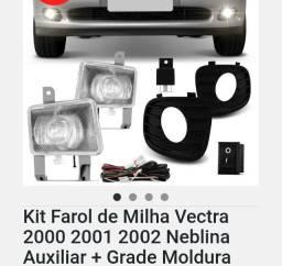 Kit Farol milha do Vectra