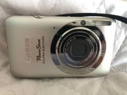 Câmera digital Canon com cartão SD 4GB memória